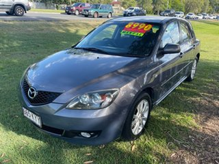2007 Mazda 3 BK10F2 MZR-CD Silver 6 Speed Manual Hatchback.