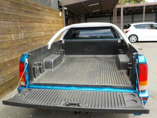 2004 Ford Falcon BA XR6 Ute Super Cab Blue 4 Speed Sports Automatic Utility