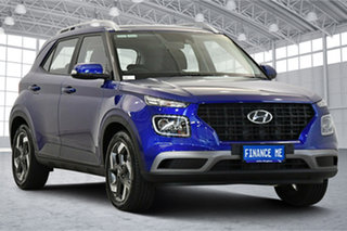 2020 Hyundai Venue QX.2 MY20 Active Intense Blue 6 Speed Automatic Wagon.