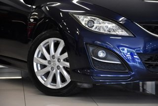 2010 Mazda 6 GH1051 MY09 Classic Blue 5 Speed Sports Automatic Wagon