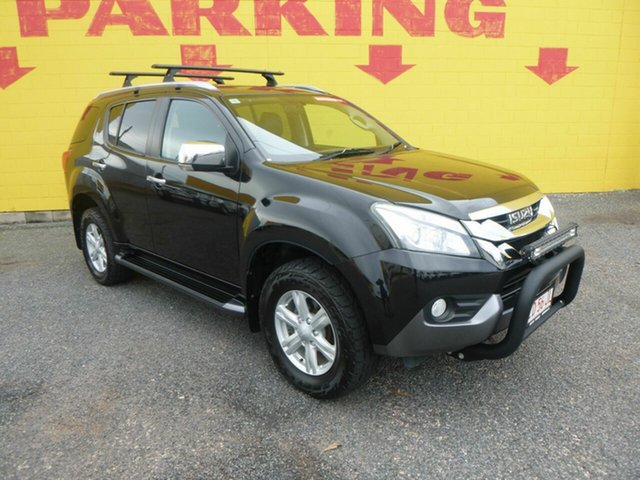 Used Isuzu MU-X MY14 LS-T Rev-Tronic Winnellie, 2014 Isuzu MU-X MY14 LS-T Rev-Tronic Black 5 Speed Sports Automatic Wagon
