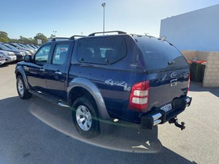 2007 Ford Ranger PJ XLT (4x4) Blue 5 Speed Automatic Dual Cab Pick-up