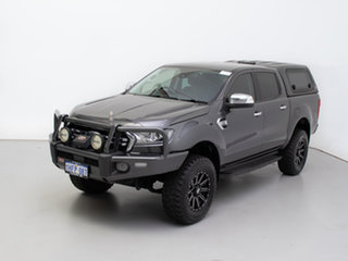 2018 Ford Ranger PX MkIII MY19 XLT 3.2 (4x4) Grey 6 Speed Automatic Double Cab Pick Up
