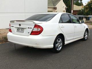 2002 Toyota Camry MCV36R Sportivo White 5 Speed Manual Sedan.