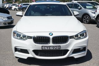 2015 BMW 3 Series F34 MY1114 320i Gran Turismo M Sport White 8 Speed Sports Automatic Hatchback.