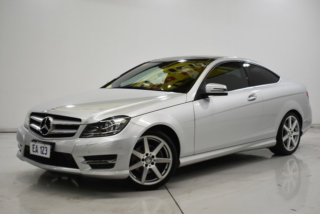 Used Mercedes-Benz C-Class C204 MY14 C250 CDI 7G-Tronic Brooklyn, 2014 Mercedes-Benz C-Class C204 MY14 C250 CDI 7G-Tronic Silver 7 Speed Sports Automatic Coupe
