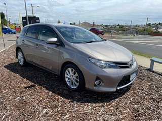 2014 Toyota Corolla ZRE182R Ascent Sport S-CVT Brown 7 Speed Constant Variable Hatchback.