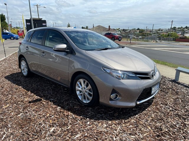 Used Toyota Corolla ZRE182R Ascent Sport S-CVT Devonport, 2014 Toyota Corolla ZRE182R Ascent Sport S-CVT Brown 7 Speed Constant Variable Hatchback