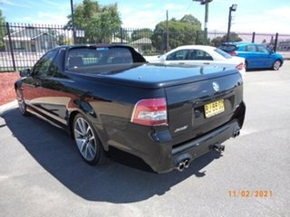 2011 Holden Commodore VE II SS-V Phantom Black 6 Speed Manual Utility