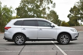 2015 Mitsubishi Outlander ZK MY16 XLS 2WD Silver 6 Speed Constant Variable Wagon
