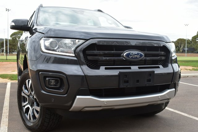 Used Ford Ranger PX MkIII 2019.00MY Wildtrak St Marys, 2019 Ford Ranger PX MkIII 2019.00MY Wildtrak Grey 10 Speed Sports Automatic Double Cab Pick Up