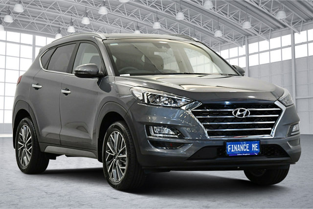 Used Hyundai Tucson TL3 MY21 Elite D-CT AWD Victoria Park, 2020 Hyundai Tucson TL3 MY21 Elite D-CT AWD Pepper Grey 7 Speed Sports Automatic Dual Clutch Wagon