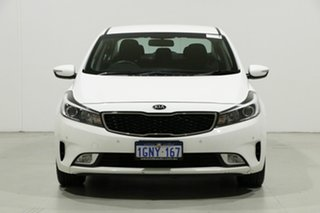 2018 Kia Cerato YD MY18 SI White 6 Speed Auto Seq Sportshift Sedan.