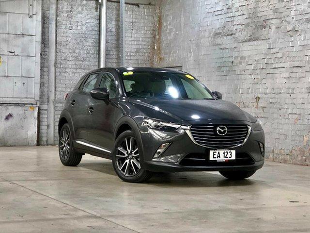 Used Mazda CX-3 DK2W7A Akari SKYACTIV-Drive Mile End South, 2017 Mazda CX-3 DK2W7A Akari SKYACTIV-Drive Grey 6 Speed Sports Automatic Wagon