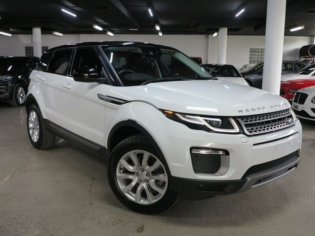 Used Land Rover Range Rover Evoque L538 MY17 TD4 150 SE Albion, 2016 Land Rover Range Rover Evoque L538 MY17 TD4 150 SE White 9 Speed Sports Automatic Wagon