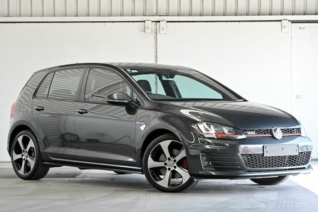 Used Volkswagen Golf VII MY16 GTI DSG Laverton North, 2015 Volkswagen Golf VII MY16 GTI DSG Grey 6 Speed Sports Automatic Dual Clutch Hatchback