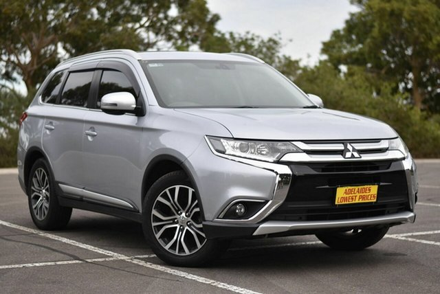 Used Mitsubishi Outlander ZK MY16 XLS 2WD Enfield, 2015 Mitsubishi Outlander ZK MY16 XLS 2WD Silver 6 Speed Constant Variable Wagon