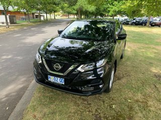 2018 Nissan Qashqai J11 Series 2 ST X-tronic Pearl Black 1 Speed Constant Variable Wagon