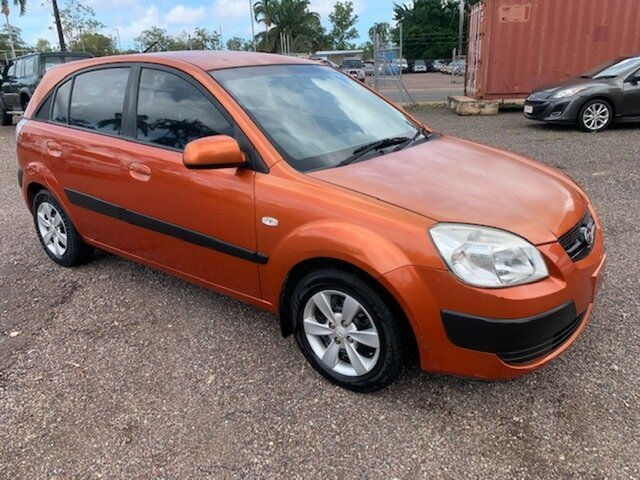 Used Kia Rio LX Pinelands, 2007 Kia Rio LX Orange 5 Speed Manual Hatchback