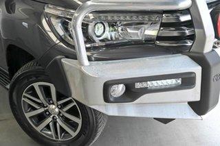 2017 Toyota Hilux GUN136R SR5 Double Cab 4x2 Hi-Rider Grey 6 Speed Sports Automatic Utility.
