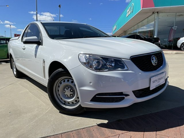 Used Holden Ute VF II MY17 Victoria Park, 2017 Holden Ute VF II MY17 White 6 Speed Automatic Utility