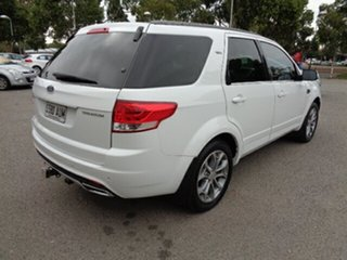 2013 Ford Territory SZ Titanium Seq Sport Shift White 6 Speed Sports Automatic Wagon
