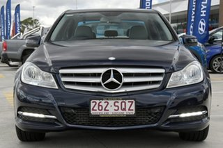 2011 Mercedes-Benz C-Class W204 MY11 C200 CDI BlueEFFICIENCY 7G-Tronic + Blue 7 Speed