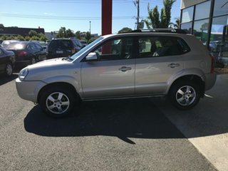 2007 Hyundai Tucson MY07 City SX Silver 5 Speed Manual Wagon