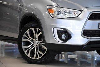 2016 Mitsubishi ASX XB MY15.5 LS 2WD Silver 5 Speed Manual Wagon