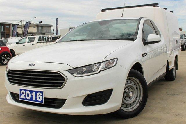 Used Ford Falcon FG X Super Cab Coburg North, 2016 Ford Falcon FG X Super Cab White 6 Speed Sports Automatic Cab Chassis