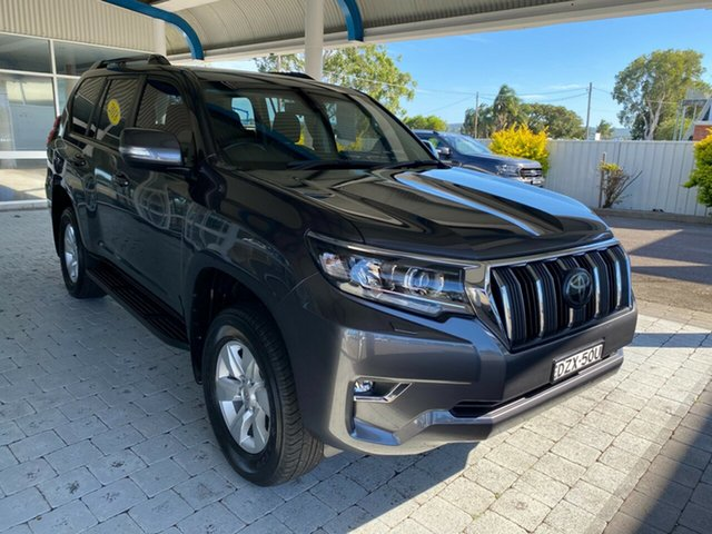 Used Toyota Landcruiser Prado GXL Taree, 2018 Toyota Landcruiser Prado GXL Grey Sports Automatic Wagon