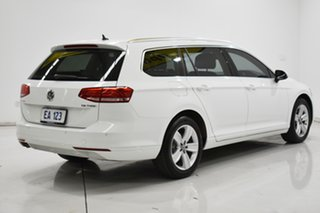 2016 Volkswagen Passat 3C (B8) MY16 132TSI DSG White 7 Speed Sports Automatic Dual Clutch Wagon