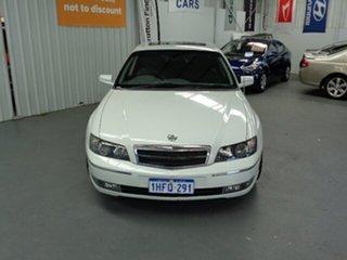 2004 Holden Caprice WK White 4 Speed Automatic Sedan.