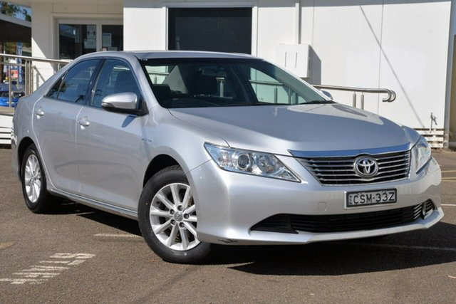 Used Toyota Aurion GSV50R AT-X North Gosford, 2014 Toyota Aurion GSV50R AT-X Silver 6 Speed Sports Automatic Sedan
