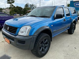 2005 Holden Rodeo RA MY05 LT Crew Cab 4x2 Blue 5 Speed Manual Utility.