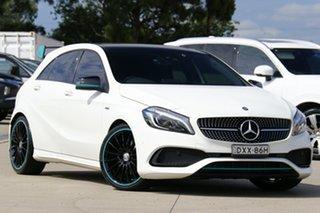 2016 Mercedes-Benz A-Class W176 807MY A250 D-CT 4MATIC Sport White 7 Speed.