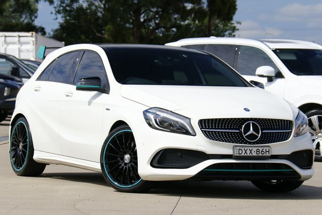 Used Mercedes-Benz A-Class W176 807MY A250 D-CT 4MATIC Sport Chullora, 2016 Mercedes-Benz A-Class W176 807MY A250 D-CT 4MATIC Sport White 7 Speed