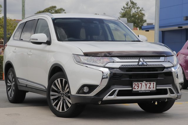 Used Mitsubishi Outlander ZL MY19 LS AWD Aspley, 2019 Mitsubishi Outlander ZL MY19 LS AWD White 6 Speed Constant Variable Wagon