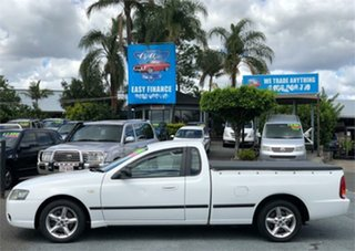 2007 Ford Falcon BF Mk II XL White 4 Speed Sports Automatic Utility