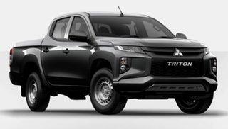2020 Mitsubishi Triton MR MY21 GLX Double Cab Grey 6 Speed Sports Automatic Utility