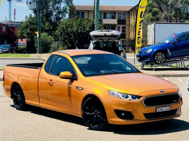 Used Ford Falcon FG X XR6 Ute Super Cab Liverpool, 2015 Ford Falcon FG X XR6 Ute Super Cab Gold 6 Speed Sports Automatic Utility
