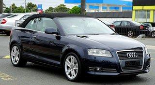 2009 Audi A3 8P MY10 TFSI S Tronic Ambition Dark Blue 6 Speed Sports Automatic Dual Clutch