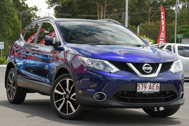 Used Nissan Qashqai J11 TI Aspley, 2017 Nissan Qashqai J11 TI Blue 1 Speed Constant Variable Wagon
