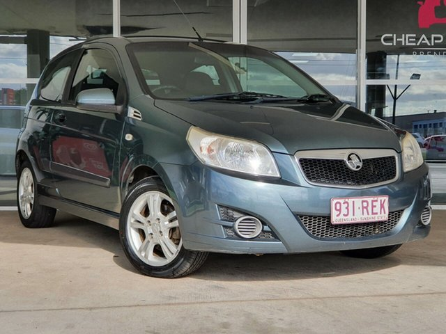 Used Holden Barina TK MY10 Brendale, 2010 Holden Barina TK MY10 Grey 5 Speed Manual Hatchback