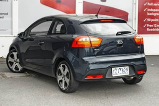 2012 Kia Rio UB MY12 SLS Deep Blue 6 Speed Sports Automatic Hatchback.