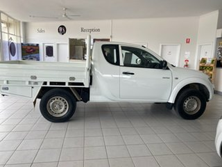 2012 Mitsubishi Triton MN MY12 GLX (4x4) 5 Speed Manual Club Cab Utility.