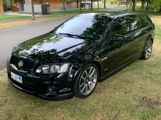 2010 Holden Commodore VE II SS V Sportwagon Black 6 Speed Sports Automatic Wagon