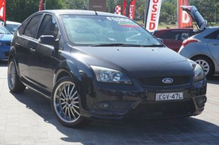 2008 Ford Focus LT Zetec Black 4 Speed Sports Automatic Hatchback.