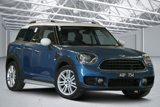 2017 Mini Cooper F54 Clubman Blue 6 Speed Automatic Wagon.