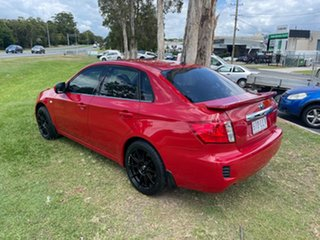 2009 Subaru Impreza G3 MY09 RX AWD Red 5 Speed Manual Sedan